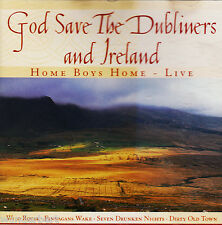 *- CD - GOD save the DUBLINERS and IRLAND -HOME BOYS home - live (1999)  71 min