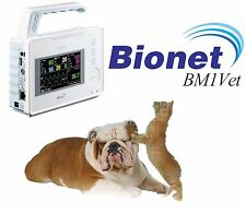 NEW ! Bionet BM1 Vet Multi Parameter Portable Veterinary Monitor 4 Yr Warranty