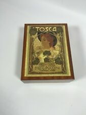 Reuge Puccini La Tosca Made in Italy Music Trinket Box