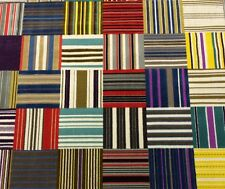 "KNOLL TEXTILES HONOUR IN ARRAY PATCHWORK SQUARES VELVET FABRIC BY THE YARD 51""W"