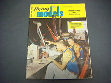 Flying Models Magazine,January 1960,Indoor Gliders,Savage,R/C  Planes