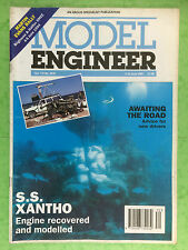 MODEL ENGINEER Issue No.3970 - S.S. XANTHO Engine Recovered And Modelled - 1994