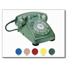 "+""The Green Rotary Telephone"" (Picture on Postcard)   ~Post Card~"