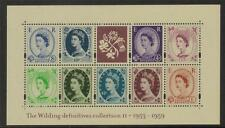 Gb Mnh 2003 ms2267 50º Anv de Wilding definitives Minipliego