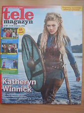 KATHERYN WINNICK on front cover TELE MAGAZYN 36/2015 in.Morgane Polanski