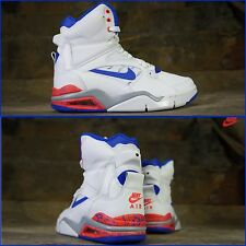 "New! Men Nike ""Air Command Force"" High Top Foam Yeezy 684715-101 True Blue 10.5"
