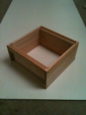 1 National Brood Box in Cedar Wood, flat pack,  ( Seconds.)