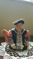 Vintage bone china Henry VIII character teapot by Leonardo collection