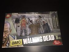 The Walking Dead Series 8 Morgan and Impaled Walker Damaged Box Set!