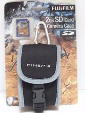 Fujifilm XP30/XP10/Z33WP Action Digital Camera Case and 2GB SD Media Card