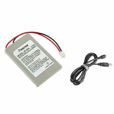 For Sony PS3 Wireless Controller 3.7V Battery+USB Cable
