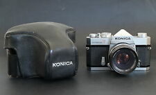 Konica Autoreflex T with HEXANON AR 52mm, F1.8 Lens First TTL SLR Collectable