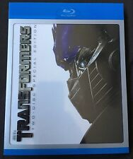 TRANSFORMERS 2 DISC SPECIAL EDITION BLU RAY WITH OOP SLIPCOVER RARE FREE SHIPPIN
