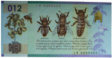 HONEY BEE Poland 2012 First polish POLYMER Test Banknote PWPW Pszczola miodna