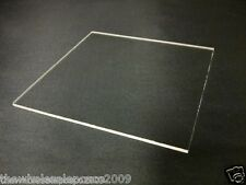 3MM CLEAR PLASTIC SHEET PERSPEX EXTRUDED ACRYLIC A4 PACK OF 4 PANELS GLAZING