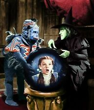 WIZARD OF OZ THE WICKED  WITCH OF THE WEST LOOKS FOR DOROTHY 8X10
