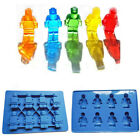 Minifigure silicone Cake Mould Ice Cube Tray Chocolate Jelly Candy Kitchen Tool