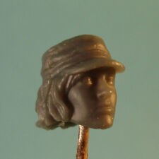 "FH009 Custom Cast Sculpt female head use with 3.75"" action figures GI Joe etc"