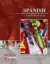 Spanish CLEP Test Study Guide - PassYourClass Used but in good condition!