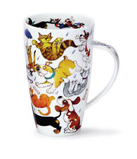 Stunning Raining Cats And Dogs Dunoon Fine Bone China Mug Henley Style