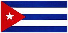 """30""""x60"""" Cuba Flag Beach Towel"""