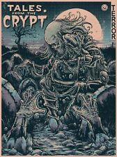 Godmachine Tales From The Crypt EC Birth Of Cryptkeeper Print Comic Poster Mondo