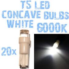 N° 20 Gloeilampen LED T5 Wit 6000K Concaaf Koplampen Angel Eyes DEPO FK 12v 2D4