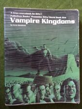 Vampire Kingdoms mega-sourcebook for Rifts Palladium Books USED trade paperback