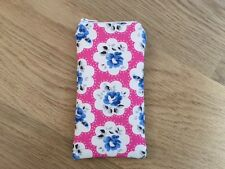 Handmade Fabric Glasses Sunglasses Zipped Case Cath Kidston Electric Pink Prov