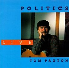 Politics Live by Tom Paxton (CD, 1989, Flying Fish)