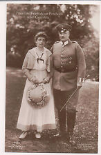 Vintage Postcard Prince Eitel Friedrich & Duchess Sophia Charlotte of Oldenburg