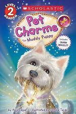 THE MUDDY PUPPY PET CHARMS Scholastic Level 2 Reader Westie kid's book terrier