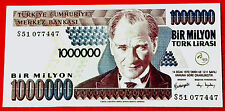 A78 TURKEY 1000000 LIRA, UNC