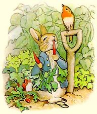 """Peter Rabbit Latch Hook CHART ONLY 24"""" x 28""""Inches (see below)"""