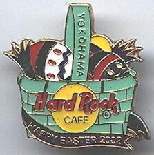 Hard Rock Cafe YOKOHAMA 2002 EASTER PIN Basket of Eggs - HRC Catalog #18693