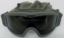 GREEN ESS TACTICAL GOGGLES WITH GREEN SLEEVE AND EXTRA LENS (1071855-1)