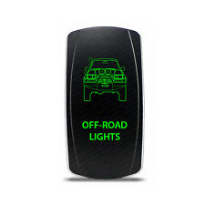 Rocker Switch Toyota Land Cruiser 80 series Off-Road Lights Symbol - Green LED