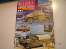 **d Steel Masters n°54 Tigre I / Abrams / DUKW / Panzer I Ausf a Ecole