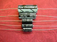 Pack of 5 Electrolytic Capacitors 10uF - 4700uF 35V Axial RoHS Unicon