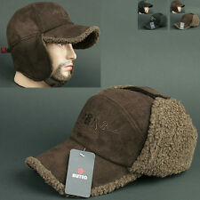 Ball Cap DWK BROWN Ear Warmer Flap Muffs Outdoor Sports Baseball HAT