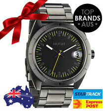 BRAND NEW MENS NIXON ROVER SS WATCH ALL GUNMETAL A359 632 **ON SALE CLEARANCE*