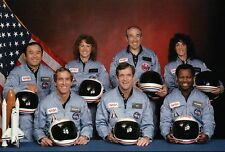 Space Shuttle Challenger Crew on November 15, 1985, NASA Astronauts --- Postcard