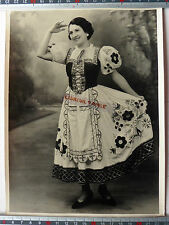 PHOTO ACTRICE OPERETTE ANGERS 1949 KILITZ LA TYROLIENNE AUBERGE CHEVAL BLANC