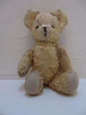 Antique Old Vintage Teddy Bear Jointed Arms and Legs 9 inch tall Sawdust stuffed