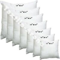 "CUSHION INNER PADS INSERTS FILLERS 12"" 14"" 16"" 18"" 20"" 22"" HOLLOW FIBRE INNERS"