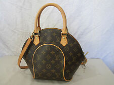 Genuine Louis Vuitton Ellipse PM  monogram shoulder bag with strap M51127