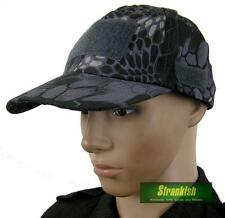 SPECIAL FORCES MILITARY STYLE FIELD HAT IN HUNTING BLACK SNAKE SKIN PATTERN CAMO