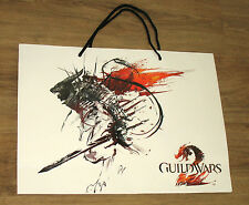 Guild Wars 2 / NcSoft  promo Tasche Tragetasche / Carrying Bag Gamescom 37x50cm