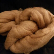 BABY CAMEL 100% combed Top roving GOLDEN BROWN 16-17 micron spin yarn 4 ounces
