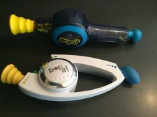2002 Hasbro Bop It Handheld Electronic Game Clear Version & Shout It Works Great